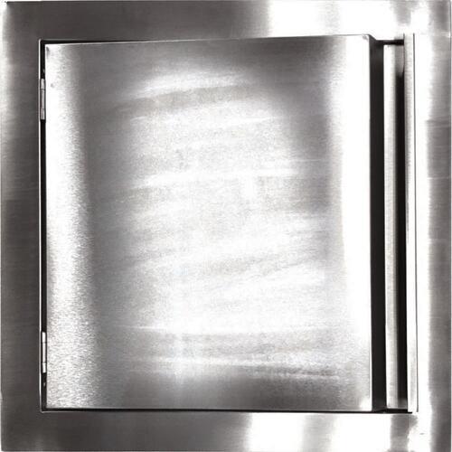 """Duro Stainless Steel Outdoor Under Island Access Door 18/"""" Door 22/"""" Frame"""