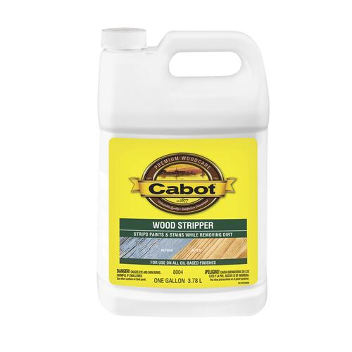 Cabot Wood Stripper 1 Gal At Menards