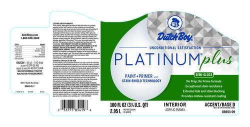 Dutch Boy® Platinum® Plus Interior 100% Acrylic Semi-Gloss Cidered Drink