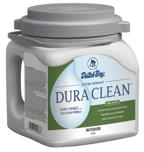 Dutch Boy Dura Clean Ultra White Interior Latex Paint 1 Gal At Menards