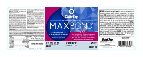 Dutch boy maxbond exterior flat acrylic latex paint 1 - Dutch boy maxbond exterior paint ...
