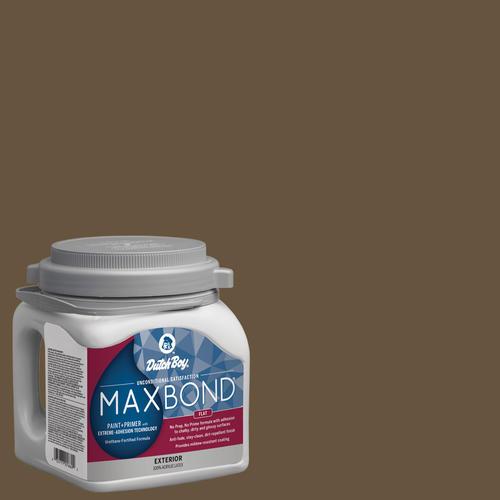 Dutch Boy® Maxbond® Exterior Flat Bottle Neck Paint+ Primer - 1 gal.