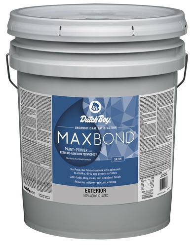 Dutch Boy 174 Maxbond 174 Exterior Satin Acrylic Latex Paint 5