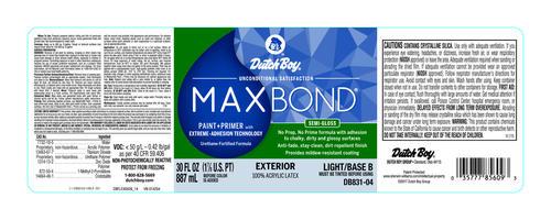 Dutch boy maxbond light base exterior latex paint 1 qt - Dutch boy maxbond exterior paint ...