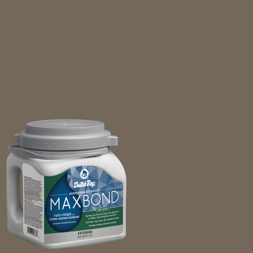 Dutch Boy® Maxbond® Exterior Semi-Gloss Twilight Taupe Paint+ Primer - 1 gal.