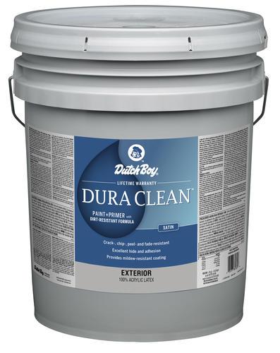 Dutch Boy 174 Dura Clean 174 Exterior Satin 100 Acrylic Paint