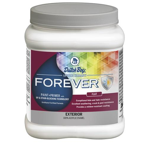 Forever Exterior 100 Acrylic Paint Primer Red Color Family At Menards