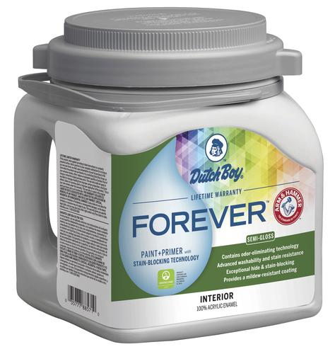 Dutch Boy Forever Interior 100 Acrylic Paint Primer 1 Gal At Menards