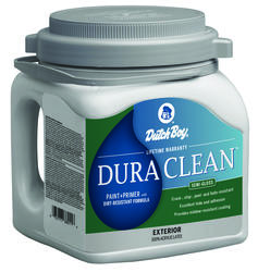 Dutch Boy® Dura Clean™ Exterior 100% Acrylic Paint + Primer with Dirt-Resistant Formula Ultra White - 1 gal.
