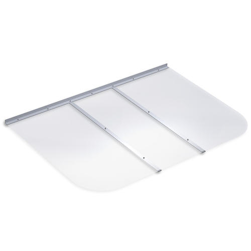 "Ultra Protect 53"" X 37"" Square Egress Polycarbonate Window"