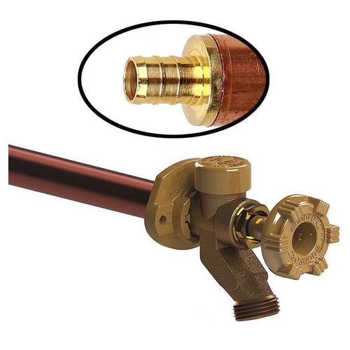 Woodford 1 2 Pex X 12 L Freezeless Anti Siphon Wall Hydrant At Menards