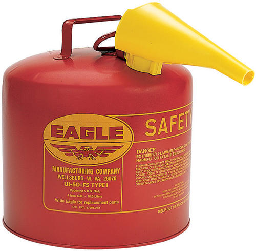 Safety Gas Can >> Eagle Type I Safety Gas Can With Funnel At Menards