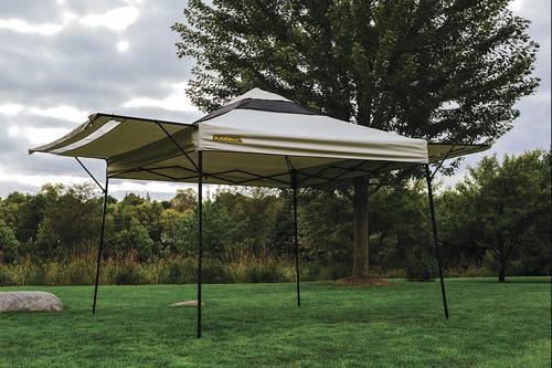 Guidesman 10 X 10 Pop Up Canopy Khaki At Menards 174