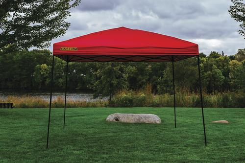 Guidesman 10 X 10 Pop Up Canopy Red At Menards 174