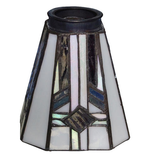 Patriot Lighting Square Tiffany Replacement Glass With 2 14