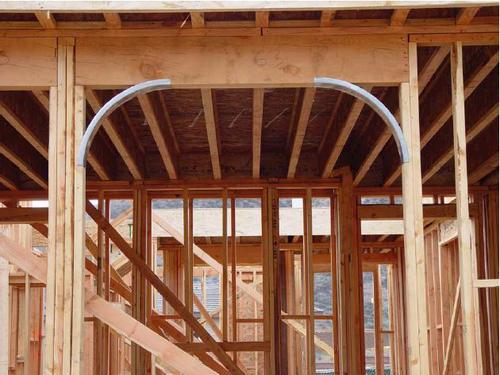 Captivating Easy Arch™ Adjustable Quarter Circle Metal Framing Arch At Menards®