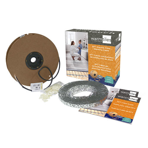 Warm Tiles 240v Electric In Floor Heat Cable Kit At Menards