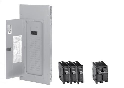 Eaton Type Br 200 Amp Main Breaker Load Center Value Pack At Menards