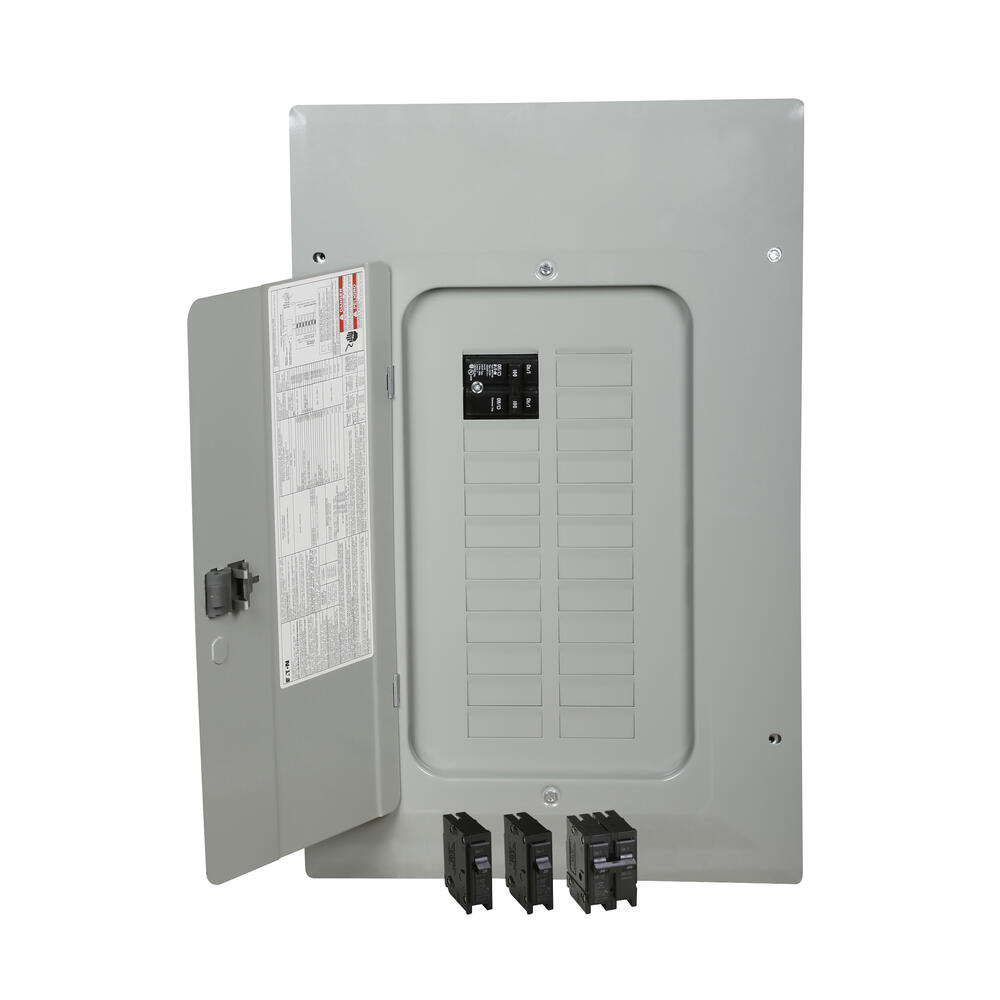 Eaton Type Br 100 Amp 20 Space 40 Circuit Indoor Main Breaker Load Center Value Pack At Menards