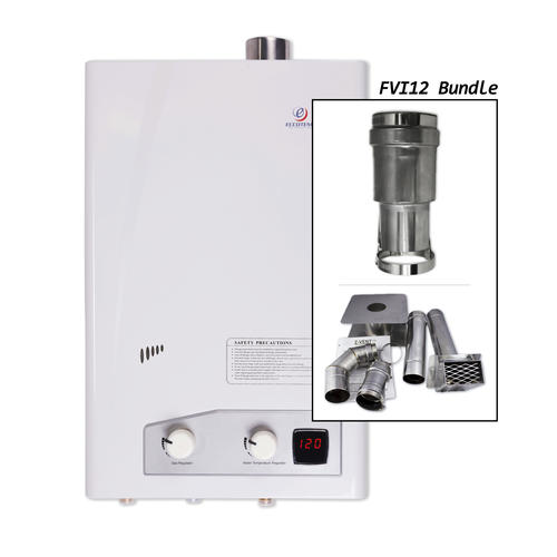Eccotemp 4 Gpm Tankless Natural Gas Water Heater At Menards 174