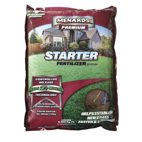 MENARDS® PREMIUM Starter Lawn Fertilizer at Menards®