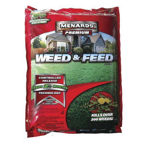 Menards Premium Weed Feed Lawn Fertilizer At Menards
