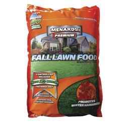 Menards Premium Fall Lawn Food Fertilizer Winterizer At