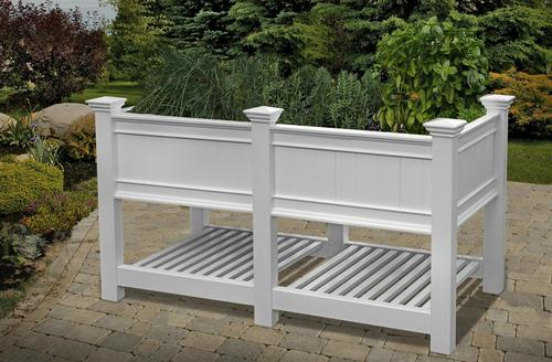 Phenomenal New England Arbors Cambridge 68 5 X 24 Elevated Garden Bed Pabps2019 Chair Design Images Pabps2019Com
