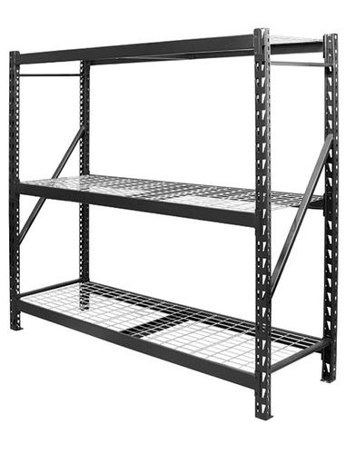 garage shelving menards