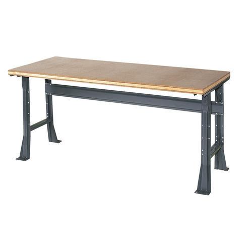 Stupendous Edsal Basic 72 X 36 X 34 Flared Leg Shop Top Workbench At Ibusinesslaw Wood Chair Design Ideas Ibusinesslaworg