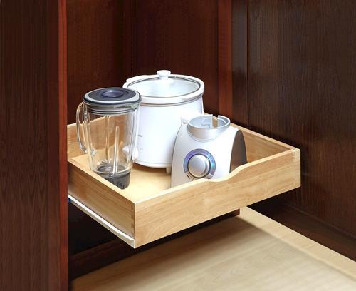 Gourmet Select 21 3 4 Quot D X 4 Quot H Hardwood Cabinet Rollout At Menards 174