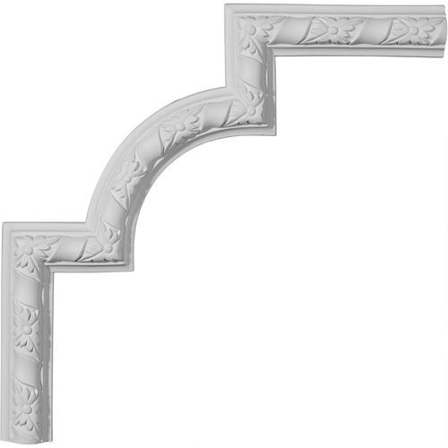 Ekena Kendall 13-1/2 x 13-1/2 Primed Polyurethane Panel Moulding