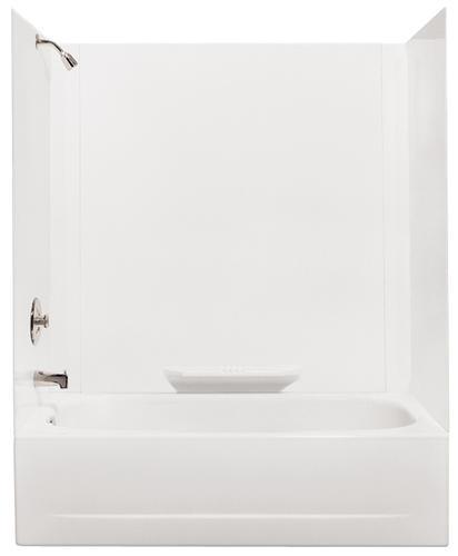 "Durawall Tub Wall: Mustee Durawall 60"" X 30"" Bathtub Wall Surround At Menards®"