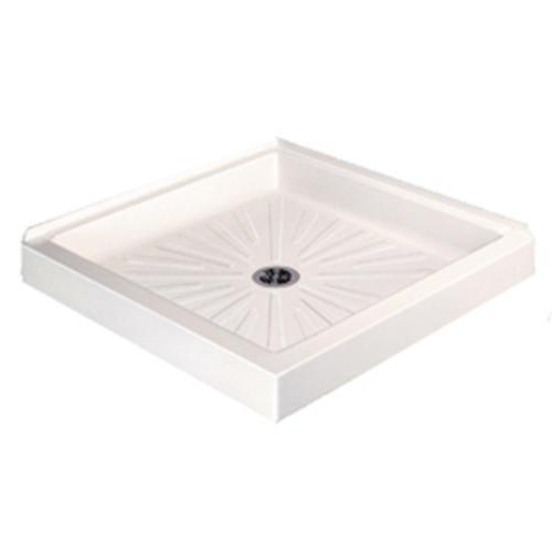 Mustee, Durabase 36 In. X 36 In. Double Threshold Shower Floor At Menards®