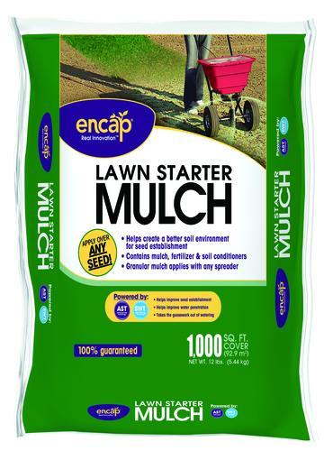 Encap Lawn Starter Mulch 12 Lbs At Menards