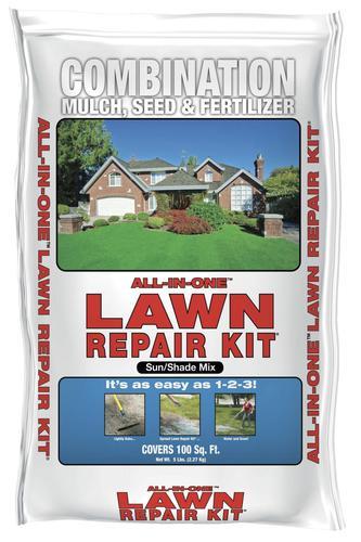 Encap All In One Lawn Repair Kit 5 Lbs At Menards