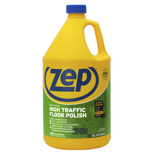 Zep High Traffic Floor Polish 128 Oz At Menards
