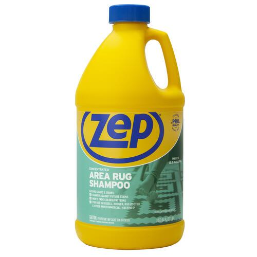 Zep Area Rug Carpet Shampoo 64 Oz