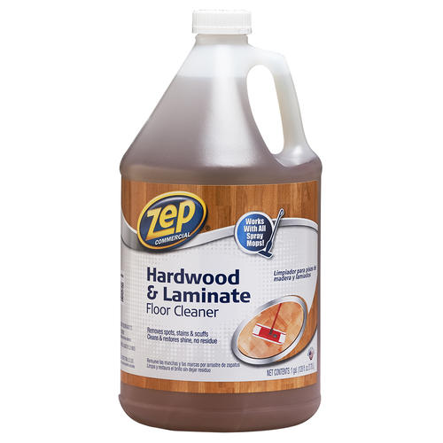 Zep Commercial Hardwood Laminate Floor Cleaner 128 Oz At Menards