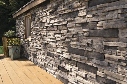 ClipStone® Manufactured Stone Ledgestone Flats (8 Sq  Ft