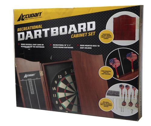 Dartboard Cabinet Set At Menards