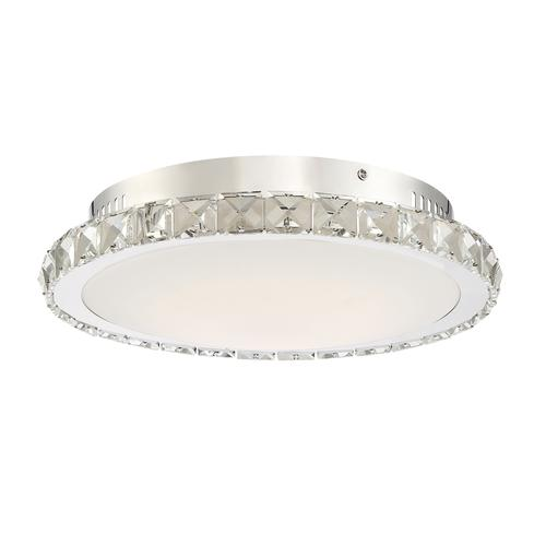 Katia Chrome Led Flush Mount Ceiling