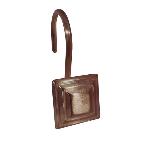 Excell Stepped Square Shower Curtain Hooks