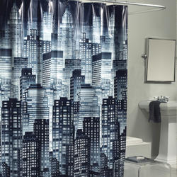 Excell Cityscape Shower Curtain