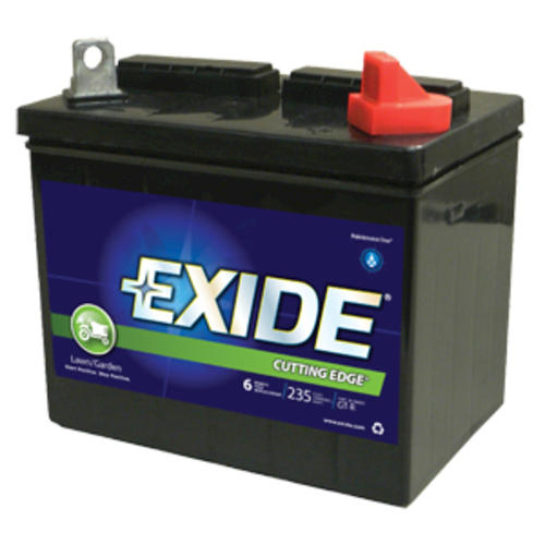 exide gt r cutting edge lawn and garden battery at menards - Garden Tractor Battery