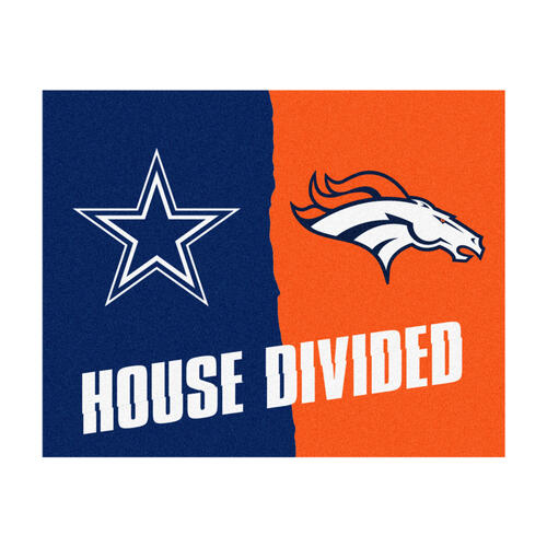 db450bd2 Fanmats NFL House Divided Mat 34