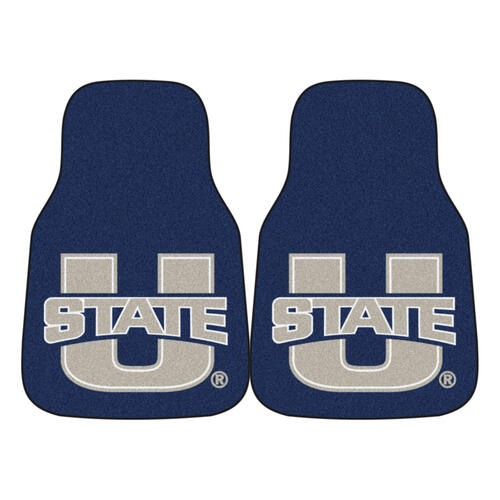 FANMATS NCAA Utah State University Aggies Nylon Face Carpet Car Mat