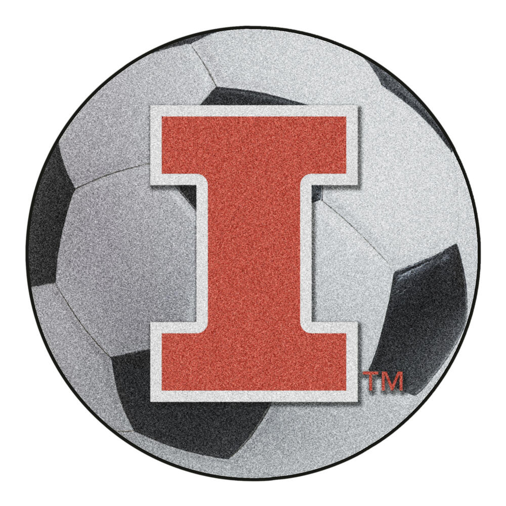 Fanmats Ncaa Soccer Ball Mat 27 Diameter At Menards