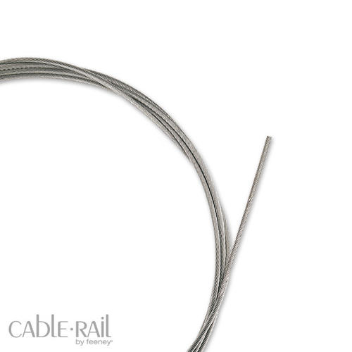 Feeney Reel Of 1 8 1 X 19 T316 Stainless Steel Cable At Menards