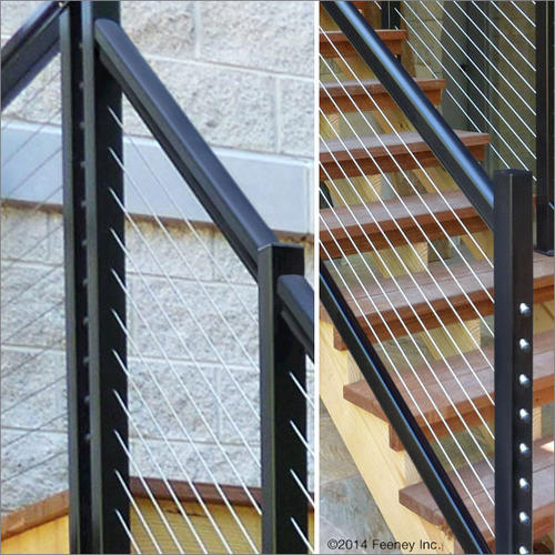 Feeney® DesignRail® 6u0027 Aluminum Rail Kit For Stair Railings At Menards®